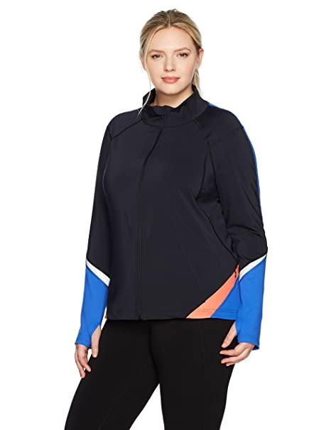 latest trends of 2019 bright n colour new collection SHAPE activewear Women's Plus Size Bolt Full Zip Jacket at ...