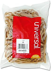 """Universal Rubber Bands, Size 33, 3-1/2"""" x 1/8"""", 160 Pack (433)"""