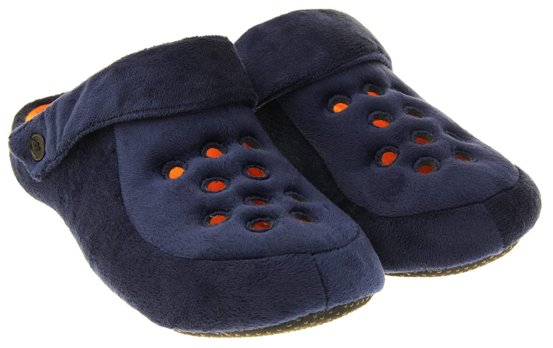 Dunlop Uomo Zoccoli Mulo Pantofole