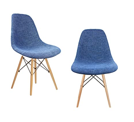 Fine Amazon Com Mid Century Modern Woven Fabric Upholstered Gmtry Best Dining Table And Chair Ideas Images Gmtryco
