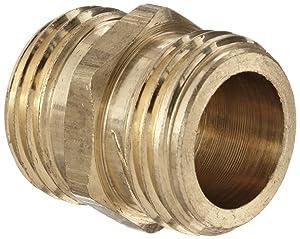 Anderson Metals Brass Garden Hose Fitting, Union, 3/4
