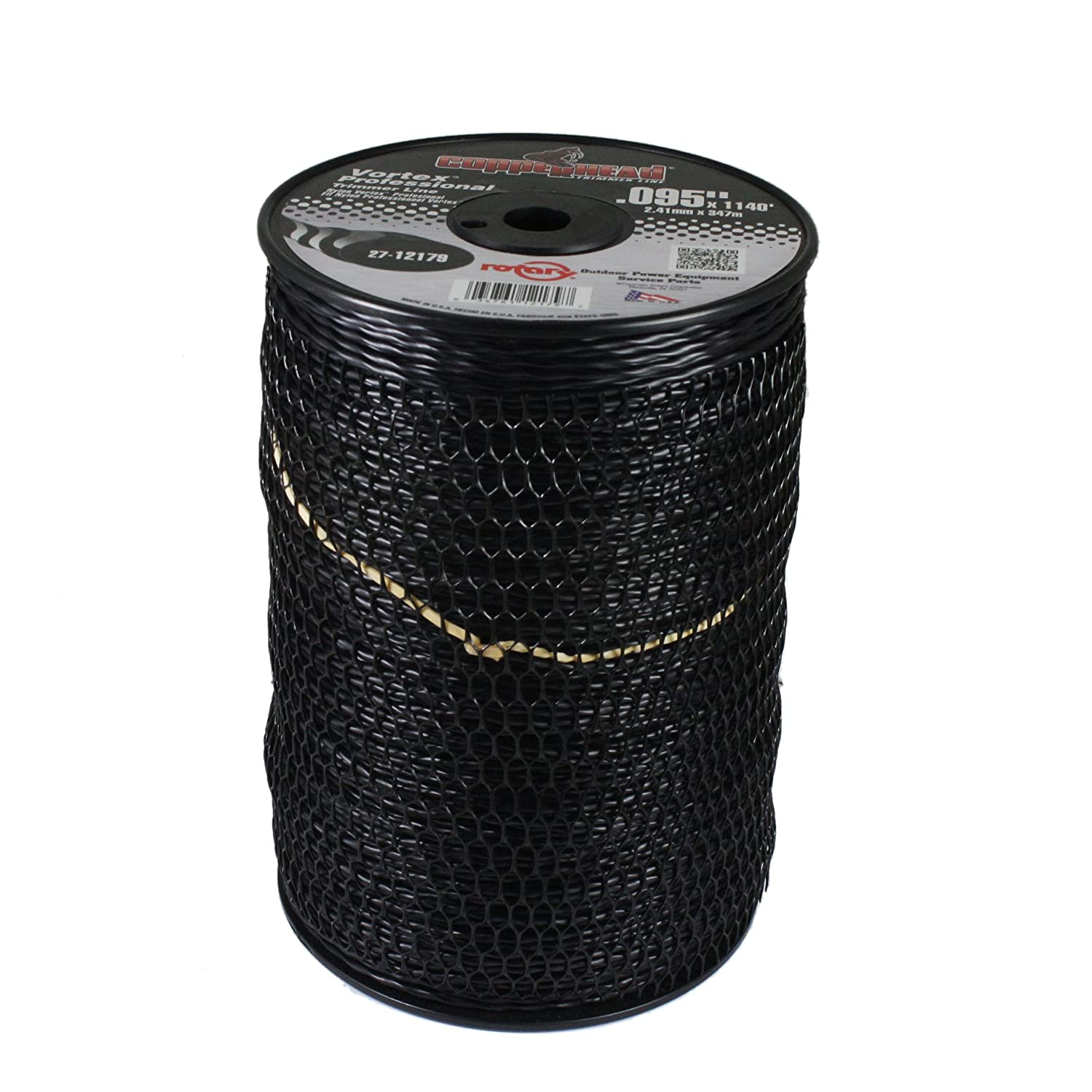 Rotary Item 12179, Vortex Trimmer Line .095 X 1140' 5 Large Spool