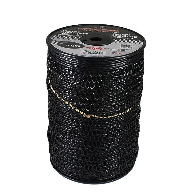 Rotary Black Vortex Trimmer Line