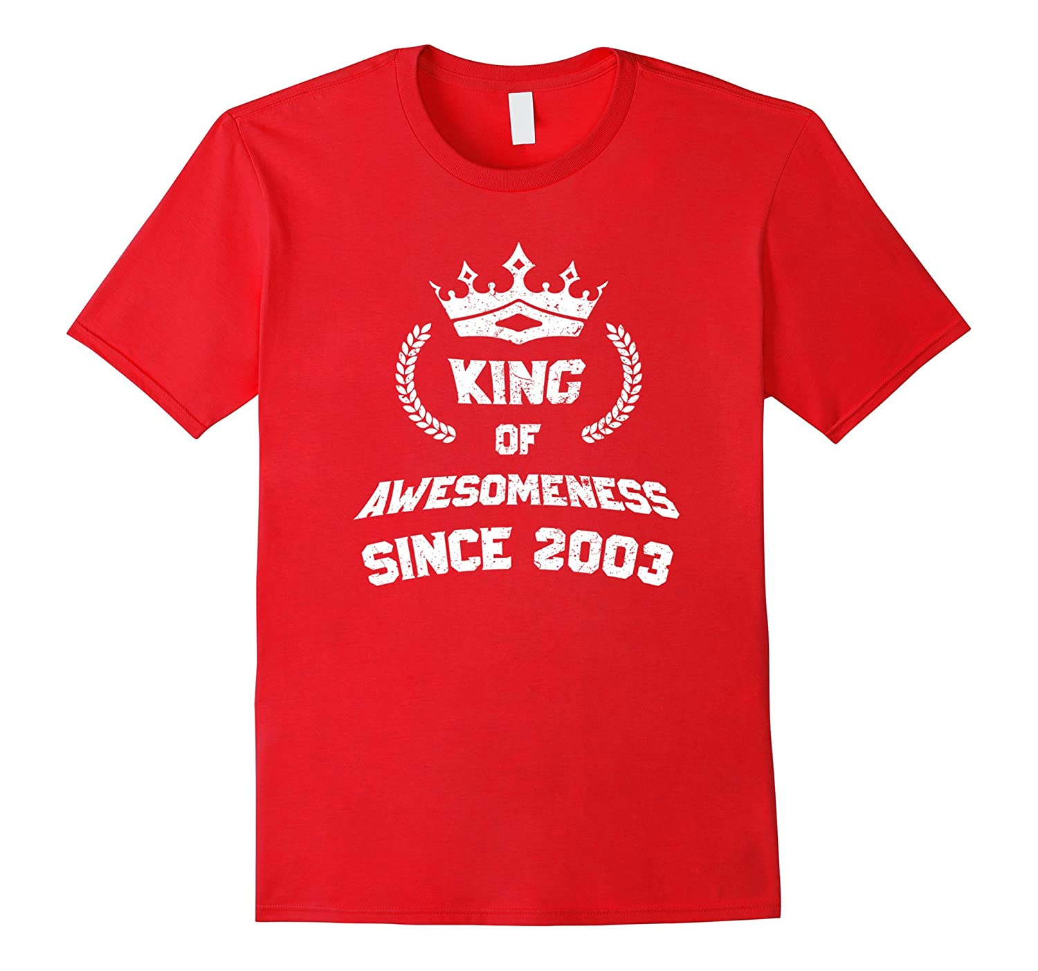King Of Awesomeness 14th Birthday T-Shirt Age 14 For Boys-ah my shirt one gift