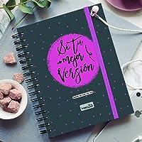 HappyMots - Agenda Semana Vista Sep 2021 a Dic 2022: Sé Tu mejor Versión - Tu Semana o Tu Mes de un Vistazo. Planificar…