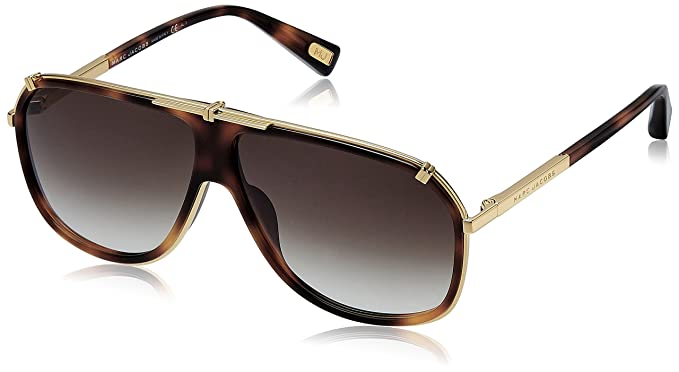 0bf12a152b Image Unavailable. Image not available for. Colour  Marc Jacobs Aviator  Sunglasses ...