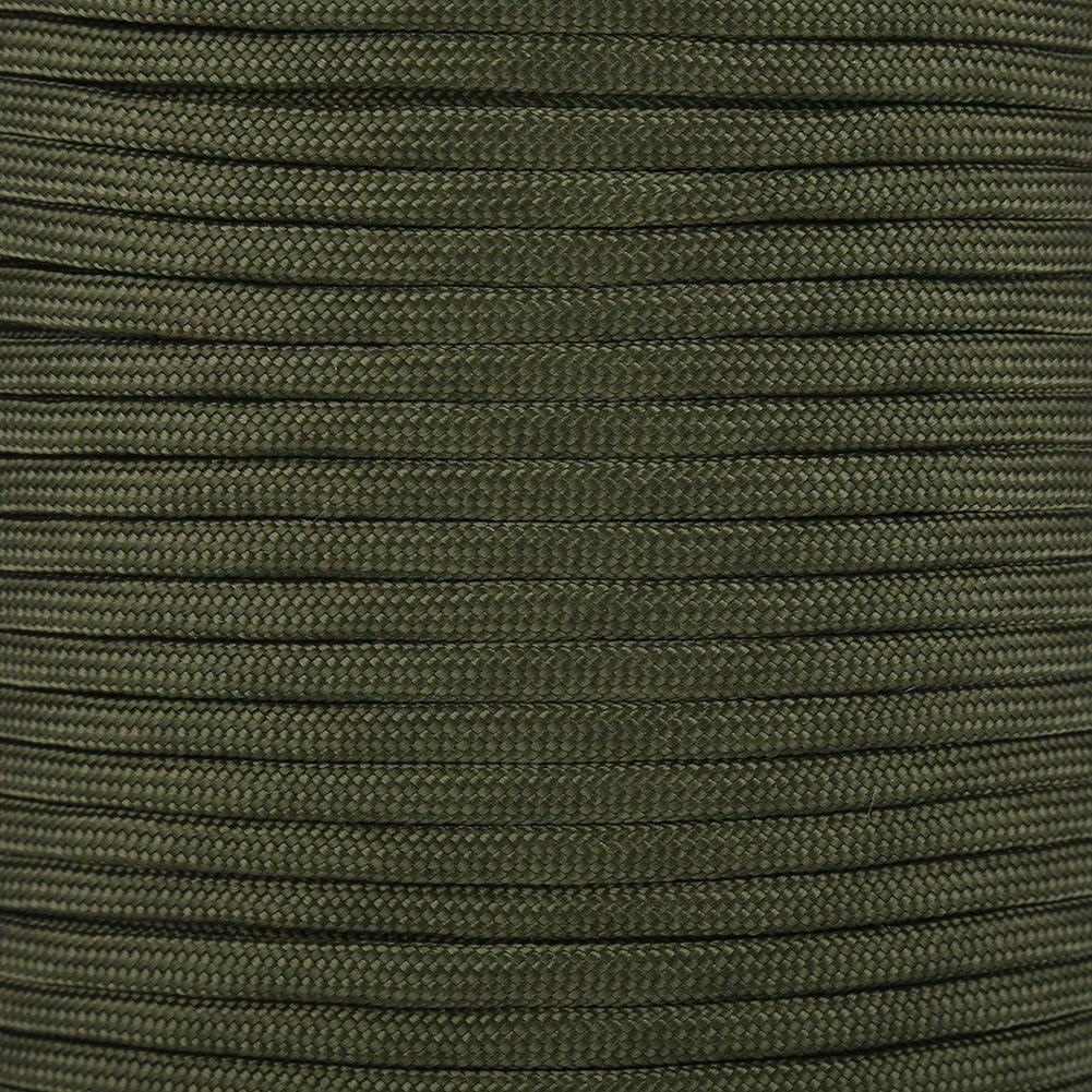 Color : Army Green VGEBY 100M Multi Function Paracord Roll 9 Strand Core Parachute Cord Polypropylene and Polyester