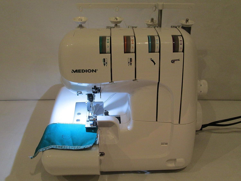Medieon MEDION MD 18030 - Máquina de Coser Digital (1300 Puntos ...