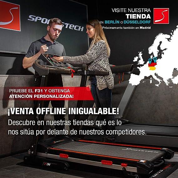Sportstech Cinta de Correr Profesional F31 - Marca de Calidad ...