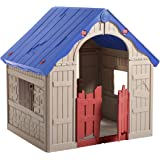 The WonderFold – Keter Easy to Fold Children's Folding Playhouse for Portable Indoor and Outdoor Fun