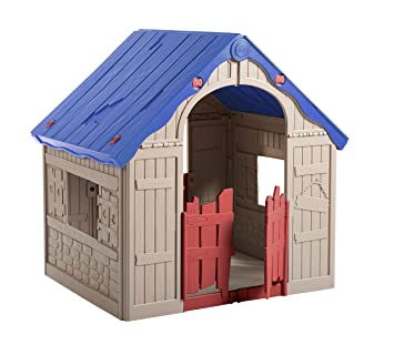 Marvelous The WonderFold U2013 Keter Easy To Fold Childrenu0027s Folding Playhouse For  Portable Indoor And Outdoor Fun