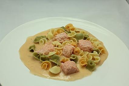 Pasta Margarita con Salmón - Ubidea - 3 platos: Amazon.es: Alimentación y bebidas