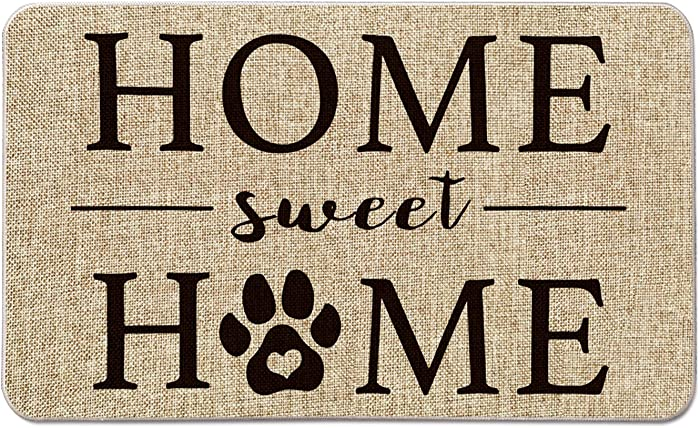 The Best Imports Decor 160Scm Dog With Paws Door Mat