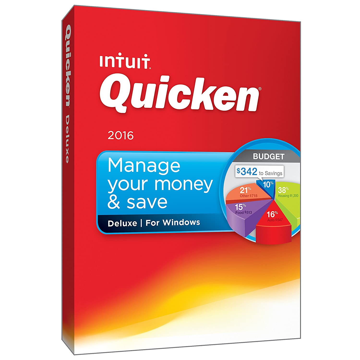 Amazon.com: Quicken Deluxe 2016 Personal Finance & Budgeting Software [Old  Version]: Software
