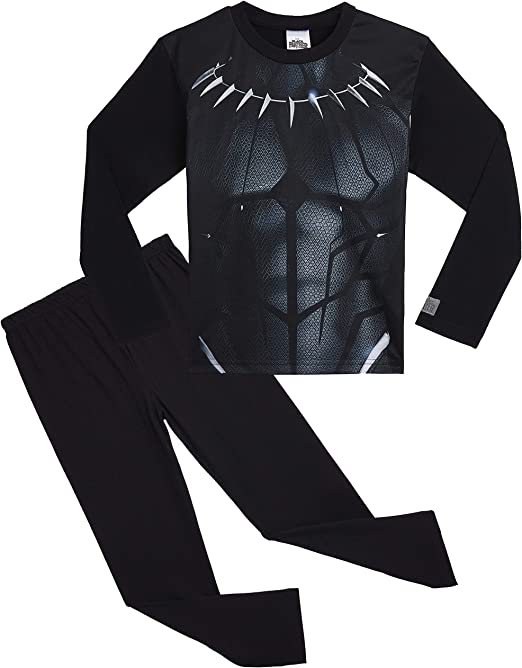 Marvel- Pijamas de Avengers Black Panther para Niños | Ropa o ...