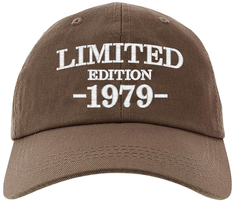 Amazon Cap 1979 40th Birthday Gifts Limited Edition All Original Parts Baseball Hat EM 0005 Black Clothing