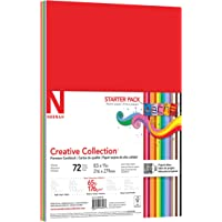 Wausau Creative Collection Classics Specialty Cardstock Starter Kit, 8.5 X 11 Inches, 72 Count Assortment (46407-02…