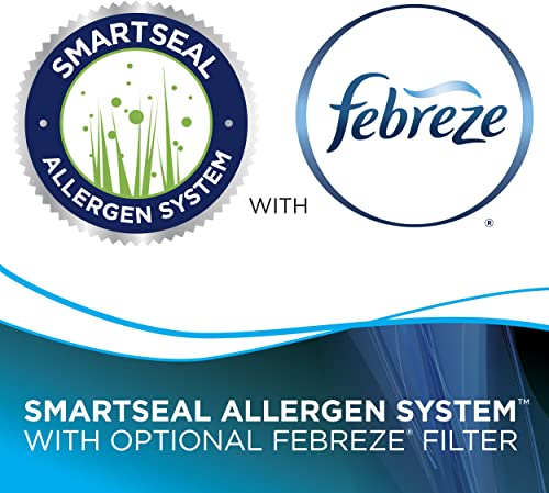 The complete seal technology will prevent fine dust and allergens
