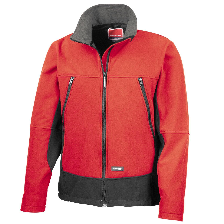 Result Softshell activity jacket Red/ Black M