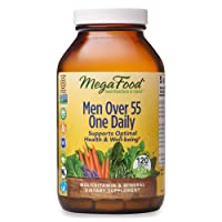 MegaFood, Men Over 55 One Daily, Supports Optimal Health and Wellbeing, Multivitamin...