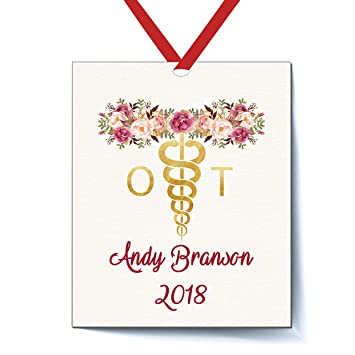 Occupational Therapist Personalized Christmas Ornament, Personalized  Occupational Therapist Gifts, Elegant Christmas Ornaments Occupation, - Amazon.com: Occupational Therapist Personalized Christmas Ornament