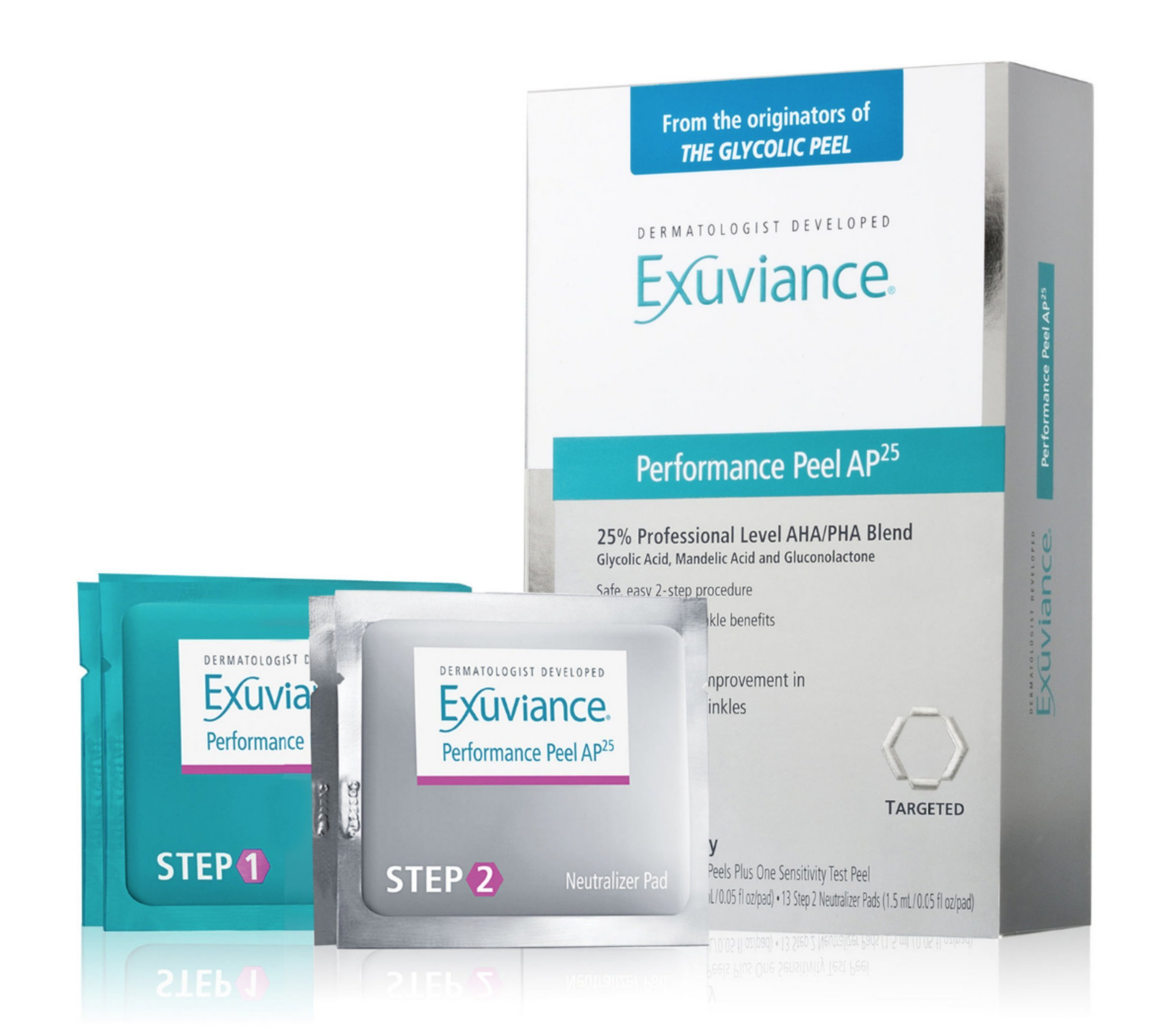 Amazon Com Exuviance Performance Peel Ap25 12 Count Beauty