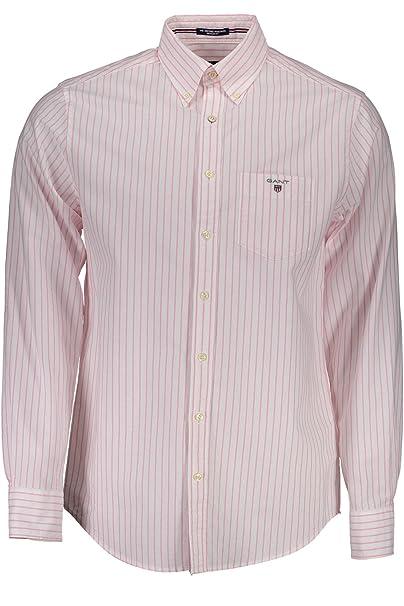 ed6bc2b4c Gant 1701.304040 Camisa con Las Mangas largas Hombre  Amazon.es ...