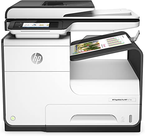 Amazon.com: HP, impresora a color HP PageWide Pro 477dn todo ...