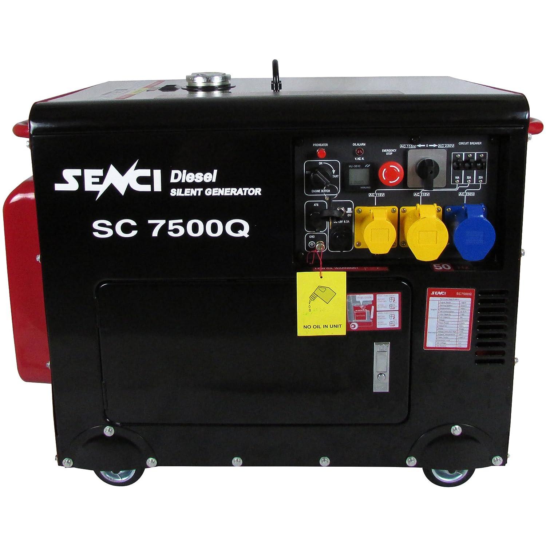Senci SC7500Q Silent Diesel Generator Amazon Garden & Outdoors