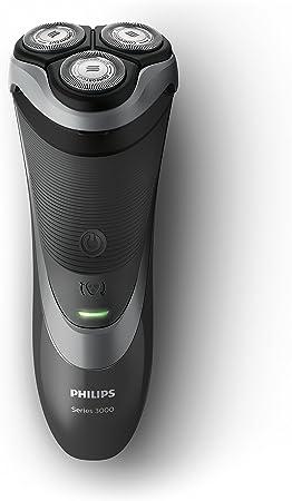 Philips Serie 3000 S3510/06 - Afeitadora Eléctrica para Hombre Rotativa, Perfilador Patillas Incorporado