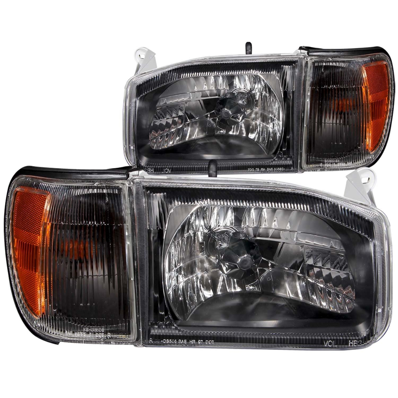 Amazon com 2000 2004 nissan pathfinder headlights corner signal lamps 8 led fog bumper light automotive
