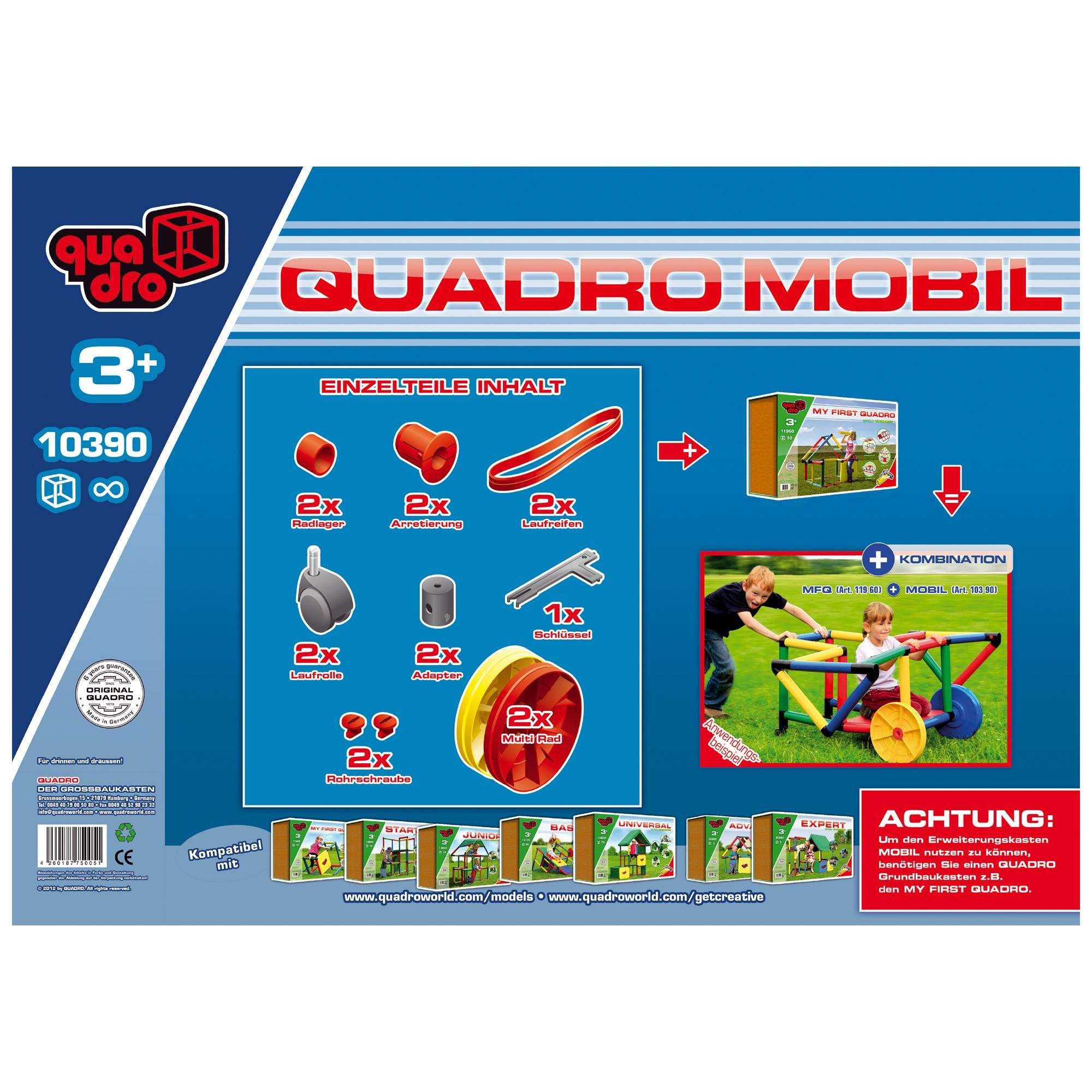 Quadro | My First Giant Construction KIT | Climbing Toy