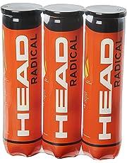 Head Radical Balles de tennis – Boites de 4 balles – Lot de 3