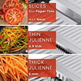 Mandoline Slicer with Cut-Resistant Gloves and