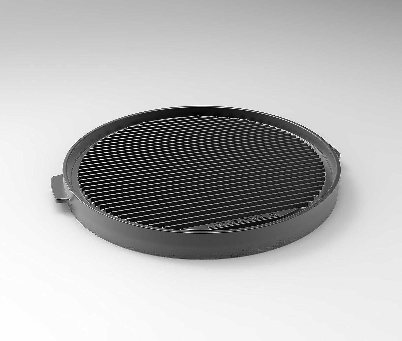 LotusGrill de teppany AKI Placa XL–Especialmente Diseñado para los raucharmen Carbón Vegetal Barbacoa/–Parrilla de Mesa XL