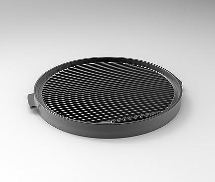 LotusGrill de teppany AKI Placa XL – Especialmente Diseñado para los raucharmen Carbón Vegetal Barbacoa/