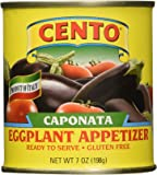 Cento Caponata Eggplant Appetizer, 7.0 - Oz. Cans (Pack of 12)
