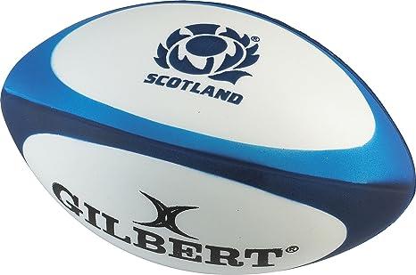 Gilbert - Pelota de Rugby Unisex de Escocia, Multicolor, Talla ...