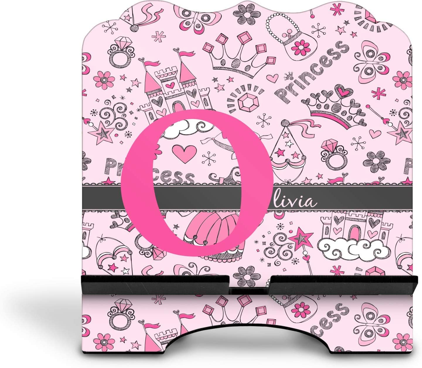 Personalized YouCustomizeIt Princess Stylized Tablet Stand
