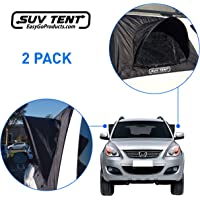 EasyGoProducts SUV Tent–SUV Car Camping Tent – Tent – Works as Vent, Bug Guard and Sun Screen Canopy - Great Car…