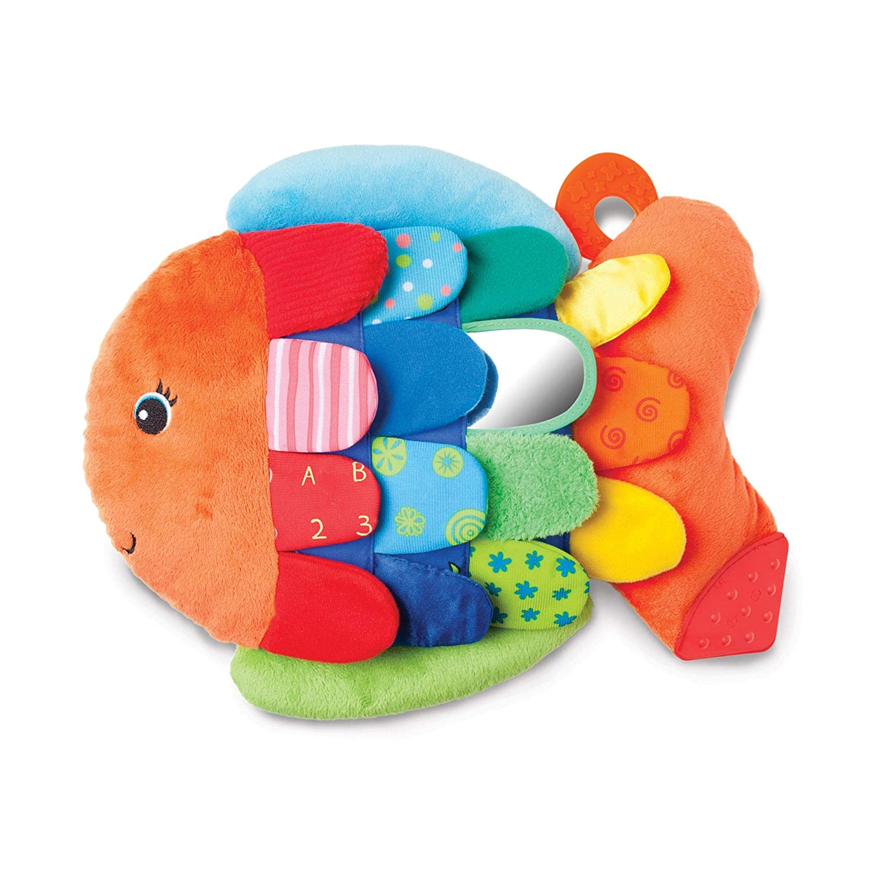 Melissa Doug Flip Fish Soft Baby Toy