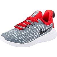 Nike Australia Rival Boys Trainers, Cool Grey/Black-University Red