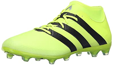 detailed look f6cbf 7b597 adidas Men s ace 16.2 Primemesh fg ag Soccer Shoe Solar Yellow Black  Metallic