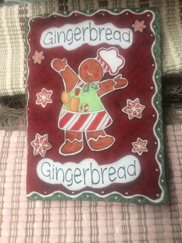 Amish Handmade Childrens Cloth Storybook Gingerbread