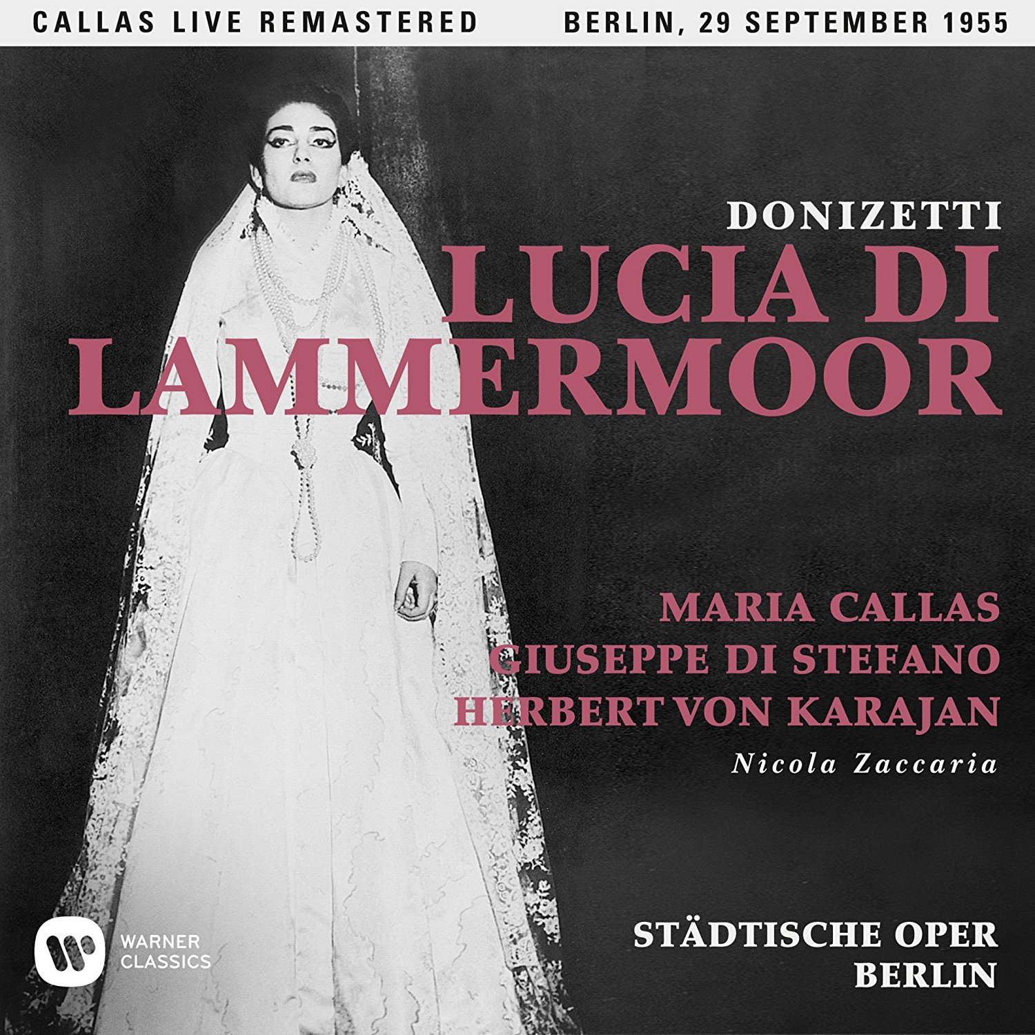 CD : Maria Callas - Donizetti: Lucia Di Lammermoor (berlin 29/ 09/ 1955) (2PC)