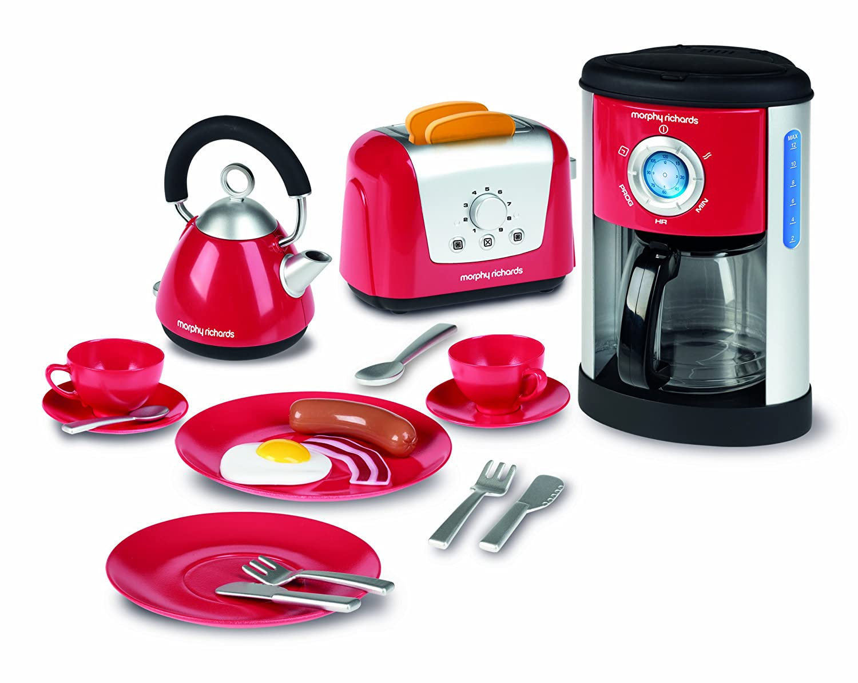 Pc Richards Kitchen Appliances Amazoncom Casdon Little Cook Morphy Richards Kitchen Set Toys