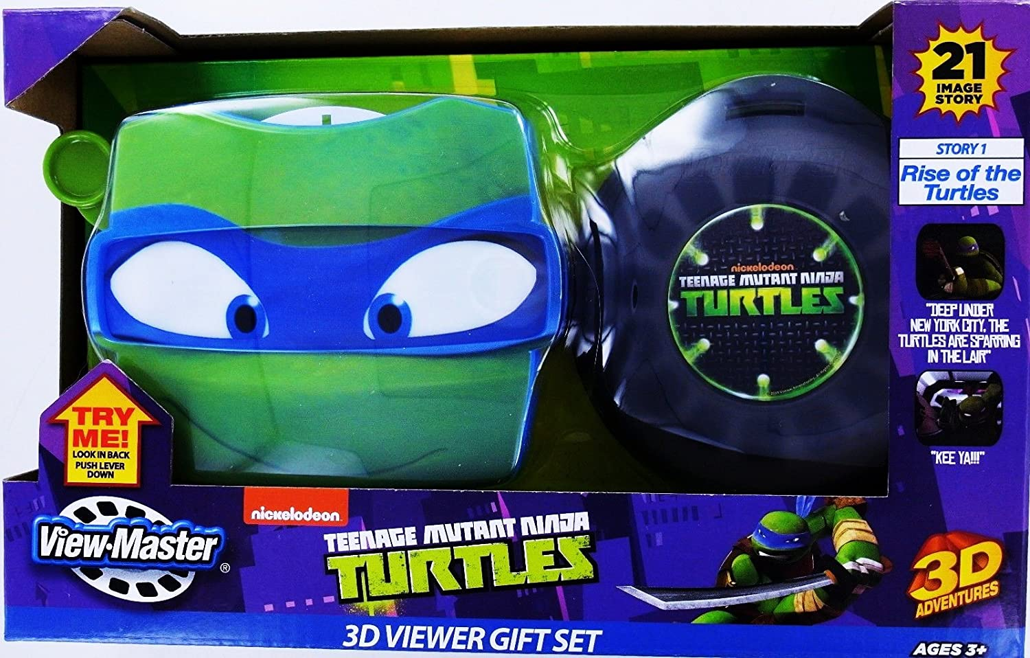 Amazon.com: TMNT Teenage Mutant Ninja Turtles View-Master ...