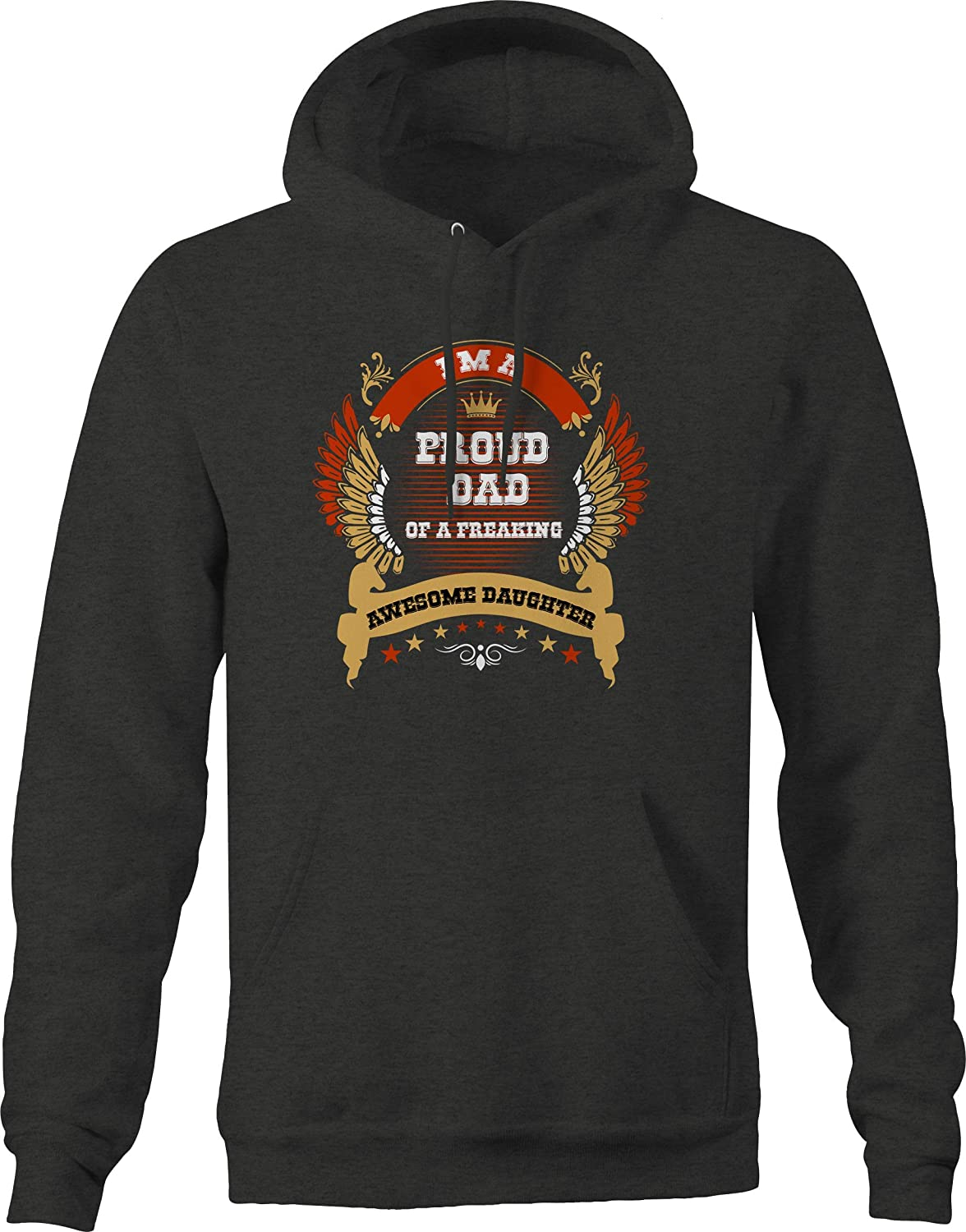 M22 Proud Dad of a Freaking Awesome Daughter Sweatshirt