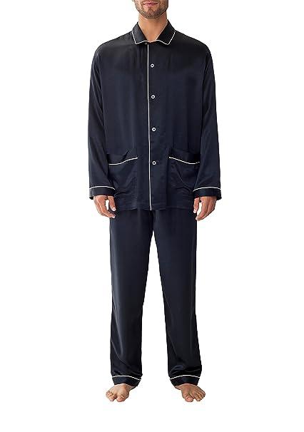 b6747730f8 Zimmerli Men s Woven Silk Pajama Nightwear at Amazon Men s Clothing store