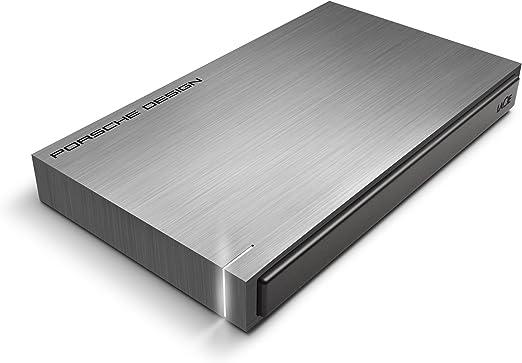 LaCie HDD ポータブルハードディスク 2TB USB3.0 mac対応 ポルシェデザイン 9000459